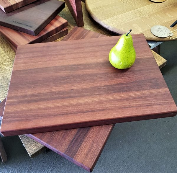 Personalised laser engraved, jarrah giftware, A3 cheese board, charcuterie board