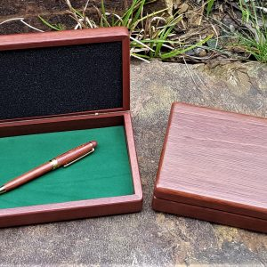 personalised jarrah display box