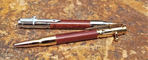 Bullet Pens outside